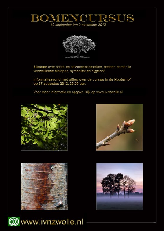 poster tree course 2012