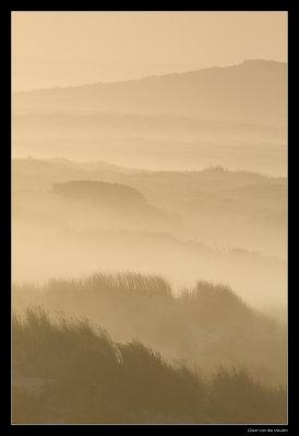 8102 Terschelling dunes at sunrise