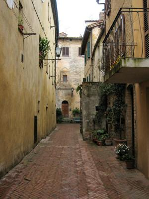 Revisiting Pienza (too crowded on previous Sunday)