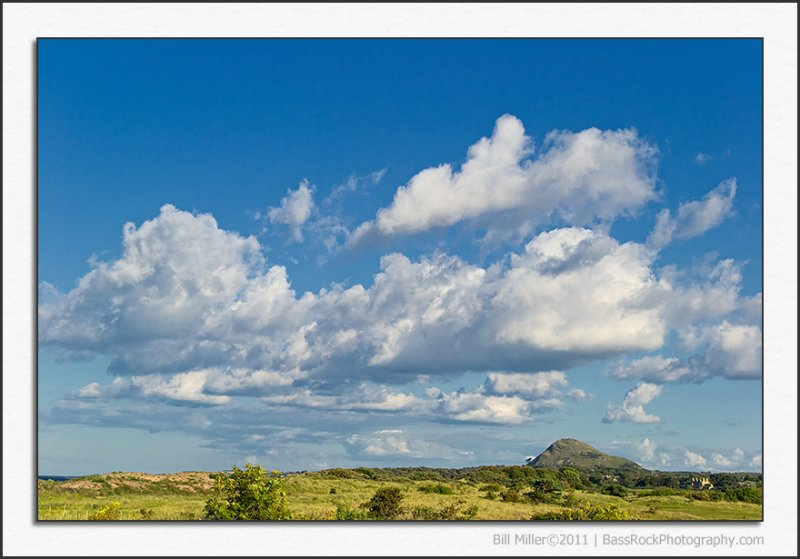 Clouds over East Lothian