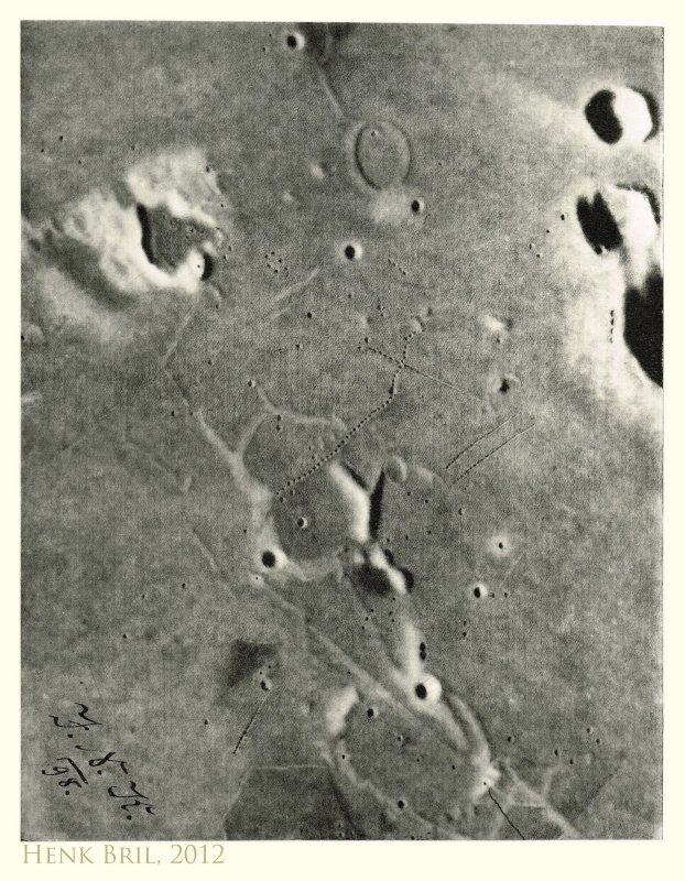 40 Das Mare Nubium westlich von Bullialdus