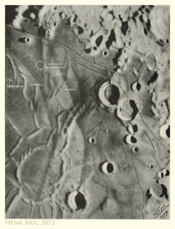 Apollo 11 Landing Area - in memory of Neil Armstrong (1930-2012)