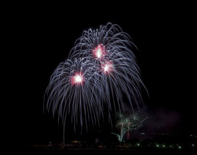 Fireworks--WPA Winter Blast Lake Havasu Arizona