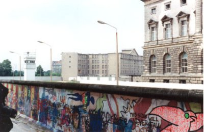 The Berlin Wall at Wilhelmstrasse