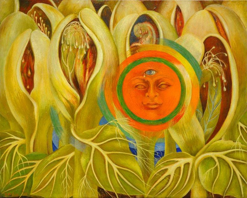 Sol y vida - Frida Kahlo