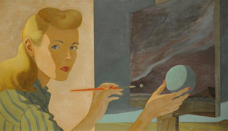 Self Portrait - Helen Lundeberg