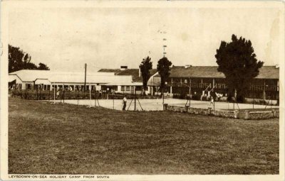 Leysdown Camp from south