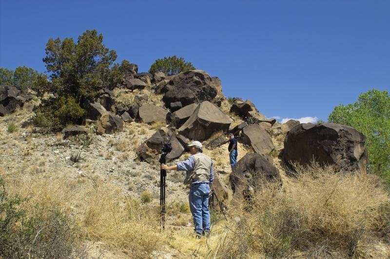 David Hunting Glyphs