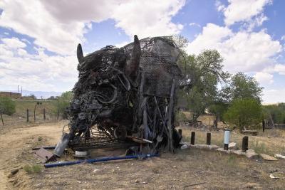 Scrap Iron Bison