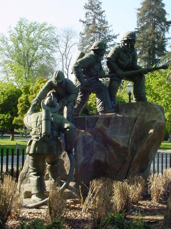 Firefighter Memorial  in Capitol Park