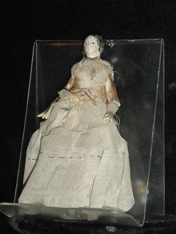Patty Reeds Doll is a state treasure.  As a young girl traveling w/ the Donner Party, she carried the doll to California.