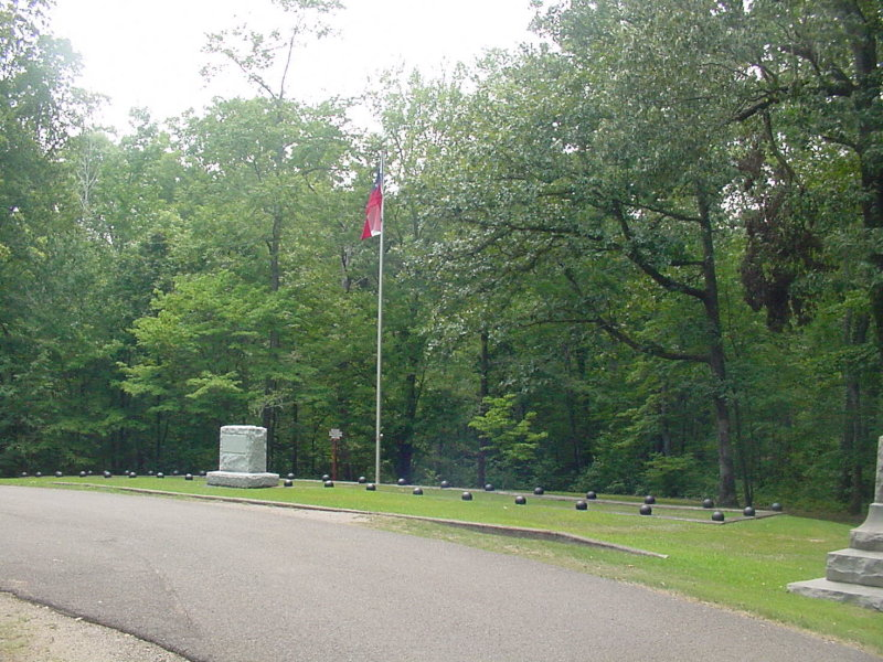 We are now arriving at one of 5 known Confederate mass graves.