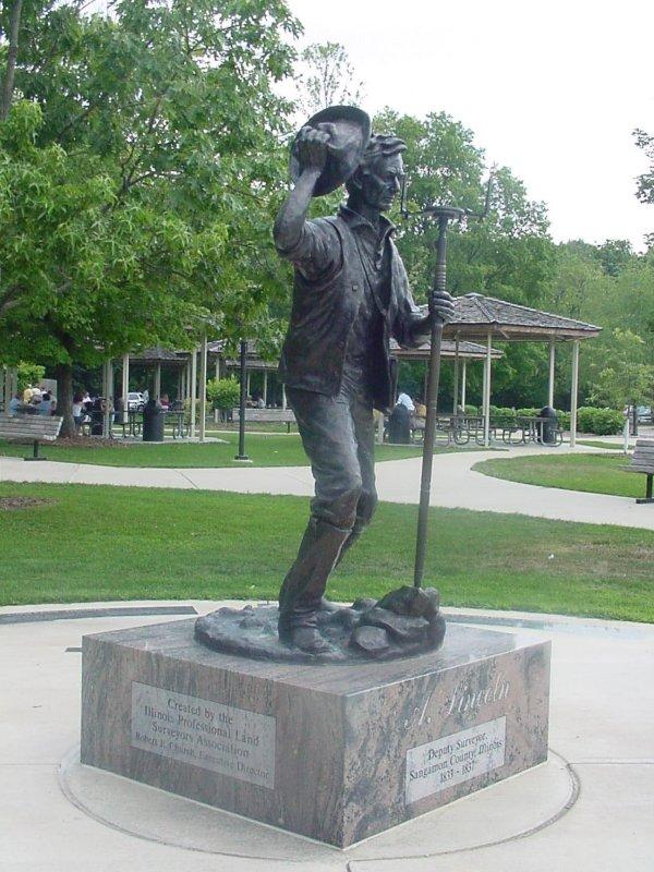 Lincoln as Deputy Surveryer - 1833-1837