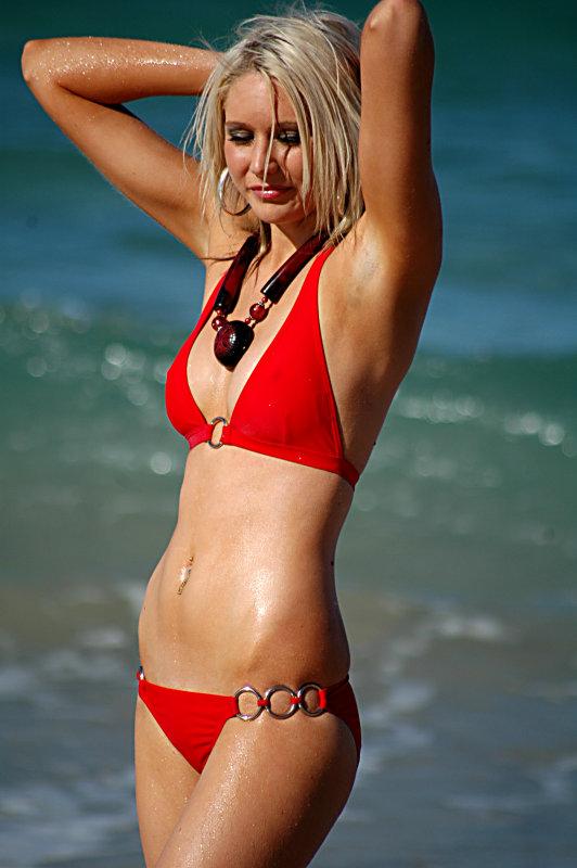 WML MVP Model  Sophie Miller  Gold Coast Team(Australias Next Top Model Finalist)  Location  Surfers Paradise  Australia