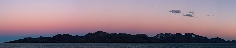 Sunset at Melchor Island