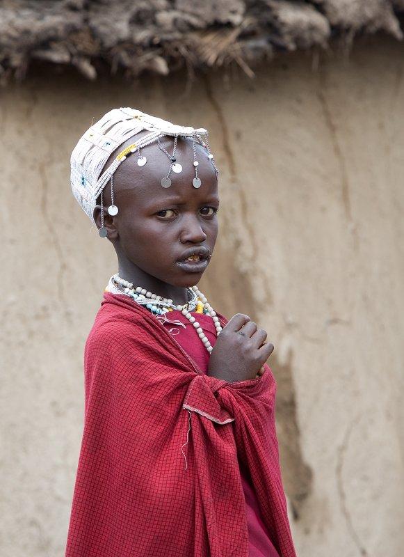 Masai Girl - Region of Ngorongoro