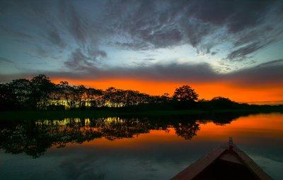 Amazonas-Sunset - II