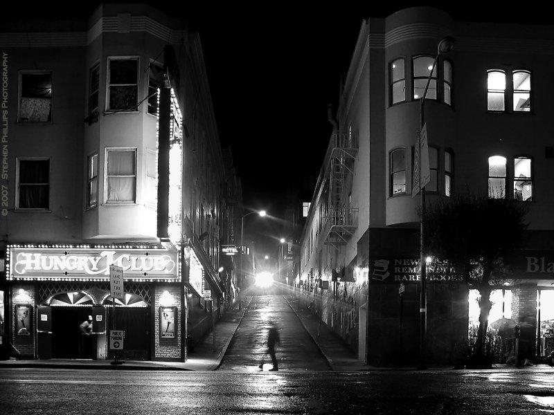 Rainy Night on Broadway (San Francisco)