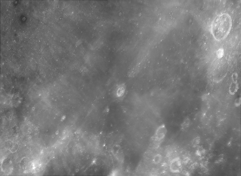 Southern Mare Nectaris Under High Sun