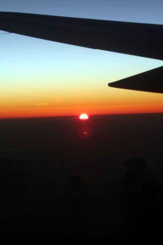 Sunset / Puesta del sol