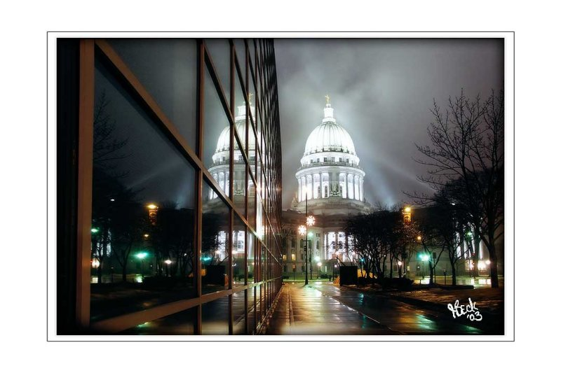 Ice Fog at the Capitol