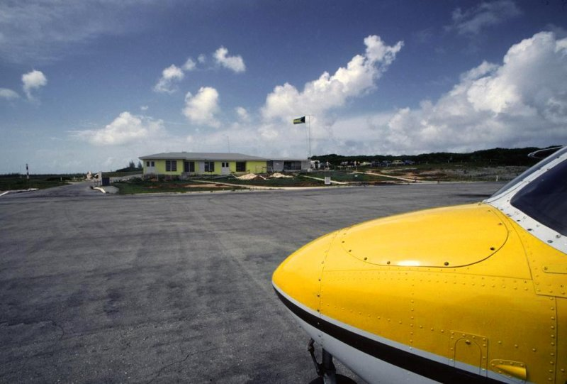 Governors Harbour Airport, Eleuthera, Bahamas