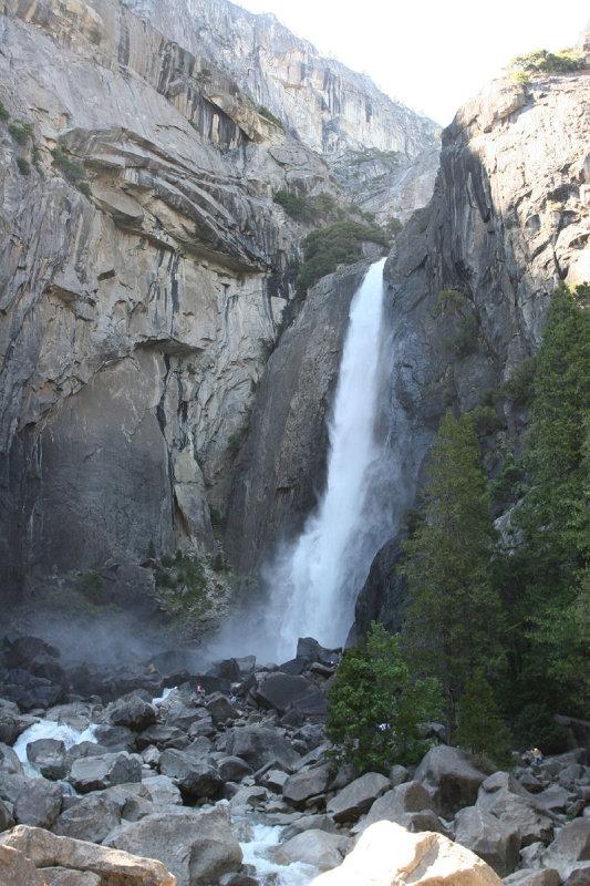 Lower Yosemite Fall (320 ft.)