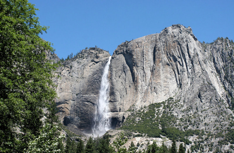 Upper Yosemite Fall (1,430 ft.)