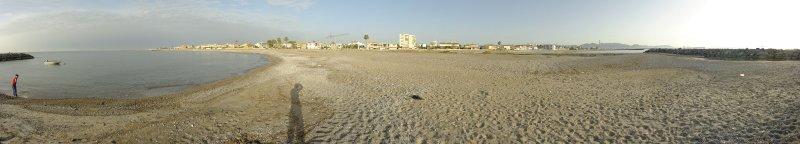 Almassora beach, Castellon (Spain)