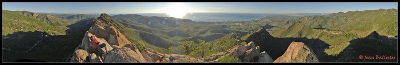 Agulles de Santa Agueda, Castellon (Spain) 360º