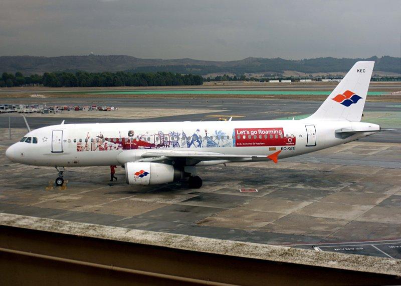 A320  EC-KEC