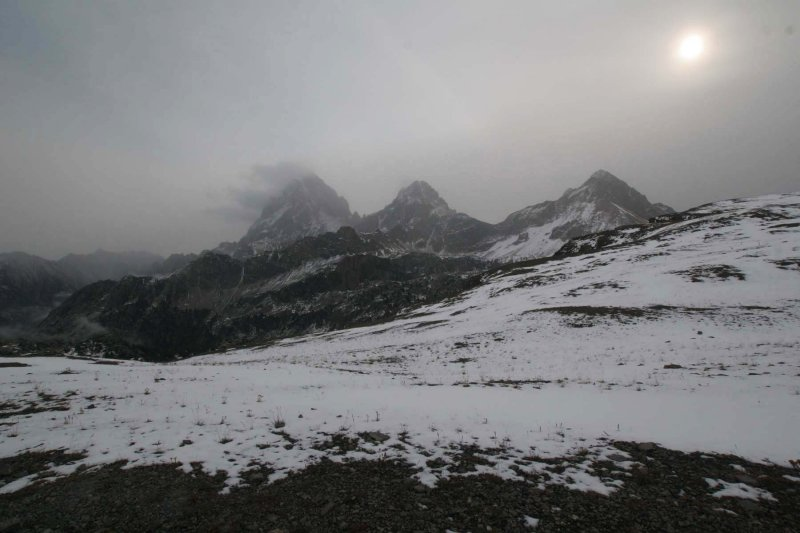 Grand, Middle, and South Teton