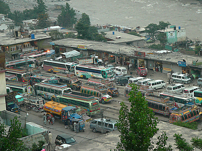 Wagon Adda - Wagon/Bus station in Muzaffarabad - P11607542.jpg