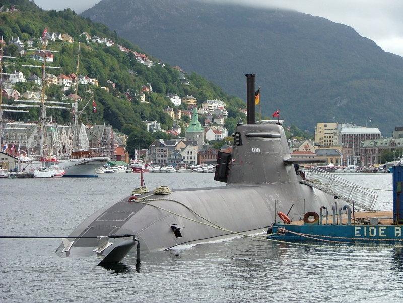U34-Emden - Bergen - Norwegen