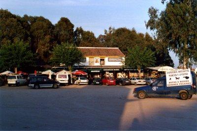Cafe i El Rosio Juni-05