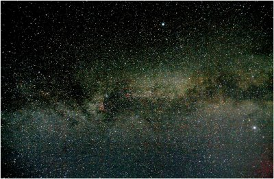 The Summer Triangle...Deneb, Altair, and Vega