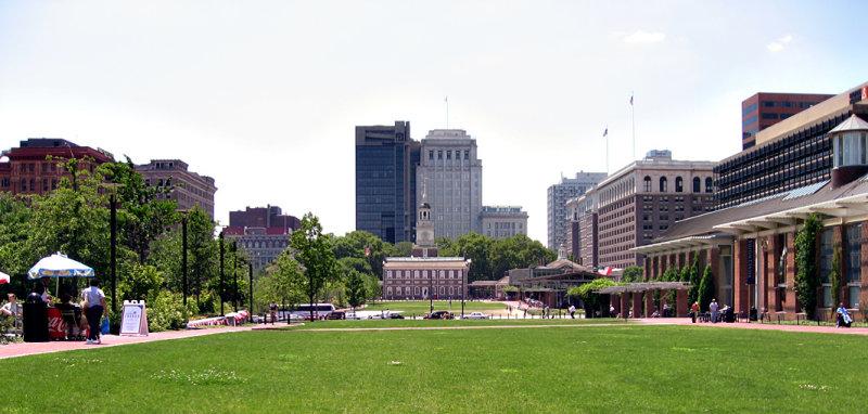 Independence Mall Panorama