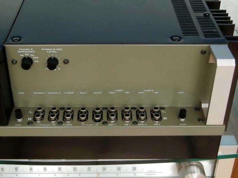 Pioneer SA-9500     Inputs