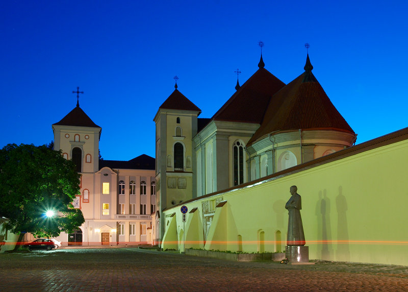 Lithuania, the old town of Kaunas