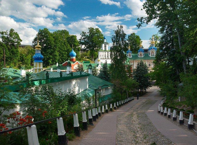 Russia, Pskovo-Pechersky Monastery