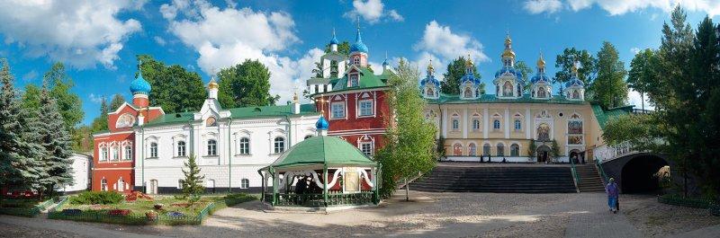 Russia, Pskov region, Pskovo-Pechersky Monastery