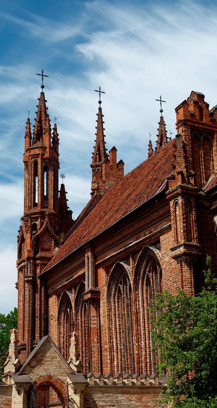 Lithuania, Vilnius, St. Annes Church