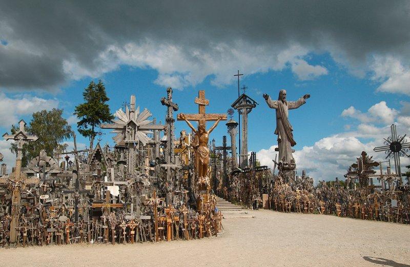 Lithuania, Siauliai, the hill of Crosses
