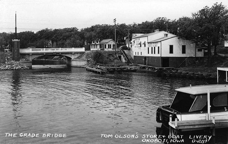 Tom Olsons Boat Livery