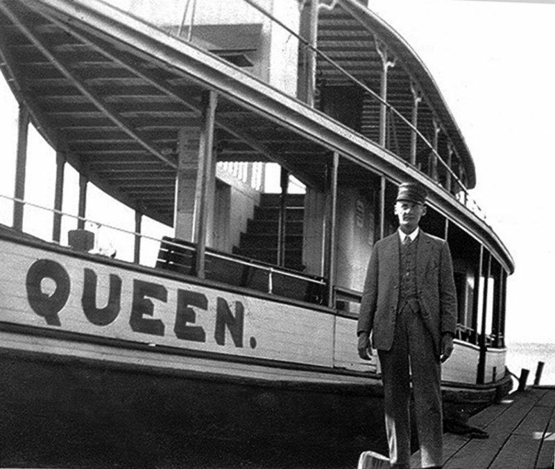 Bruce (Cap) Root & The Queen 1918