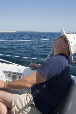 Passing Sleeping Bear Dunes