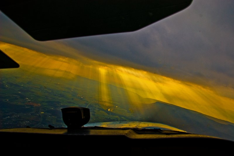 Out the Cockpit Window