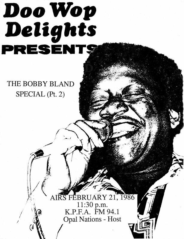 Bobby Bland- 1986