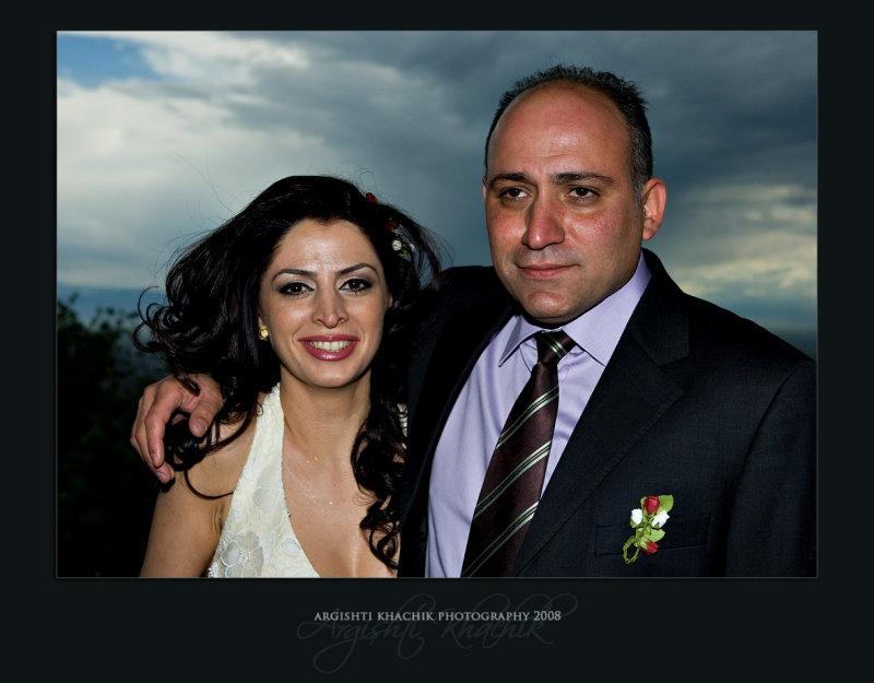 Yevette and Karen - Wedding 09.05.2008 Armenia/Yerevan