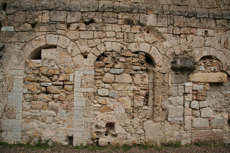 Sealed arches/doorways